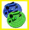 Expanding Expandable Water Garden Hose Pipe Spray Gun 50 75 100 200ft Green Blue
