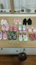 Baby Girl Shoes. 10 pairs. Mostly size 2 , 3, 4. Age 6 - 12 months.