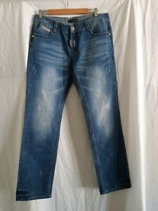 Men's Dsquared mens designer jeans size 33 made in Italy