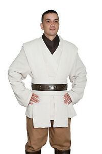 Star Wars Obi Wan Kenobi Disfraz JEDI Túnica y pantalones Alta Calidad