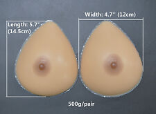 Fake Breast Forms False Breast Transgender Mastectomy Silicone Boobs A Cup Gift