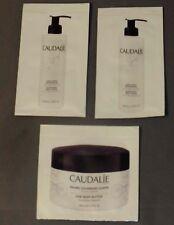 CAUDLALIE Vine Body Butter and Nourishing Body Lotion Sachets, Brand New