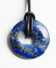Edelstein-Anhänger, Donut rund, Lapis Lazuli, Ø 30 mm