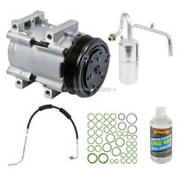 For Lincoln Continental 1991 1992 AC Compressor w/ A/C Repair Kit TCP