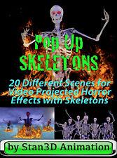 Pop Up Skeletons SALE on USB Flash Drive or on DVD