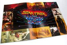 Star Trek II The Wrath of Khan Promo Movie Ad Program Paramount LAST CHANCE!