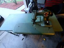 Us Blindstitch Model 1118 9 Industrial Sewing Machine Withfull Motor Amp Table