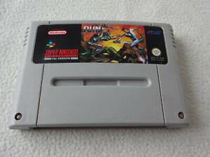 Run Saber SNES Super Nintendo Spiel nur das Modul