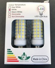 E11 LED Bulbs (2 pack) Dimmable White Energy Saving