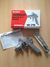 Action spéciale! Iwata résistance spray gun w-70, 03 z