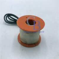 "AC220V 1/4"" 2 Way Brass Water Valve Solenoid Coil"