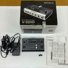 Roland V-02 HD Scaler Integrated 2CH Video Switcher box adapter manual used