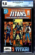 TALES OF THE TEEN TITANS #44 CGC 9.8 WHITE PAGES 1ST APPEARANCE OF NIGHTWING!!!