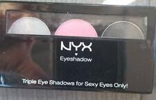 (Casablanca) - NYX Cosmetics Trio Eyeshadow. Free Shipping