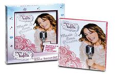 Violetta diario con grabadora de voz cm 21,5x 17