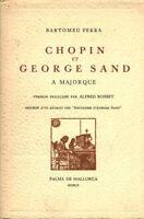 Livre ancien Chopin et George Sand à Majorque book