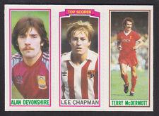 Topps - Footballers (Blue Back) 1981 - # 50 125 159 Liverpool W Ham Stoke