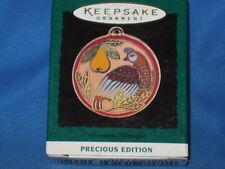 1995 Hallmark Cloisonne Partridge Pear Tree Precious Edition Miniature Ornament