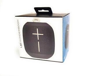Logitech Ultimate Ears UE Wonderboom Waterproof Bluetooth Portable Speaker Black