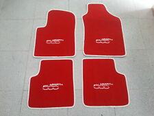 TAPPETINI FIAT 500 ABARTH 2007-2010 BORDI PERSONALIZZABILI NO ORIGINALI 0051