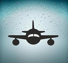 Selbstklebend Aufkleber Auto Flugzeug Luftfahrt Flughafen Flight Crew Besatzung
