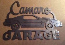 Camaro 3nd Generation Z28 83-92 Metal Garage sign  Garage sign Chevy art