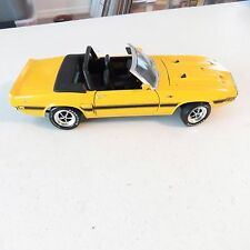 1969 shelby gt 500 ertl 1:18 scale diecast convertible