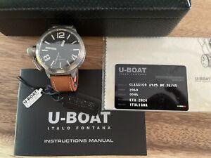 U-BOAT CLASSICO 925Silver ETA2824