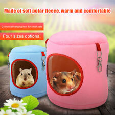 Warm Bed Rat Hammock Squirrel Winter Toys Pet Hamster Hanging Nest Cage House