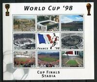 36508) Dominica MNH 1998 Wc Soccer Football S/S