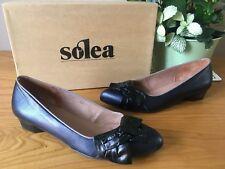 c02b447b2d5 Solea Kurt Geiger Solo dark blue leather court shoes UK 3 EU 36 BNIB RRP £