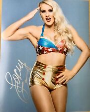WWE LACEY EVANS SIGNED AUTOGRAPHED 8X10 PHOTO DIVAS NXT AEW TNA ROH SHIMMER