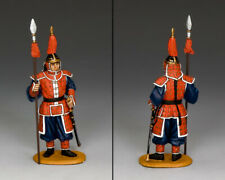 KING & COUNTRY IMPERIAL CHINA IC064 CHINESE STANDING GUARD WITH SPEAR MIB