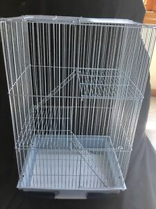Prevue Hendrix Small Animal Cage 3-level Wire Light Blue Gerbil Hamster Mouse