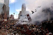 9//11 World Trade Center 1M Ton Rubble WTC Silver Halide Photo