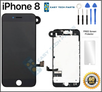 BLACK iPhone 8 Assembled OEM LCD Digitizer 3D Touch Screen Replacement A1863