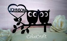 Owl Wedding Cake Topper Ebay