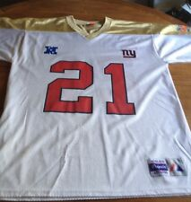 NY Giant T. Barber Majestic Jersey XL. Great Condition. Super  Bowl XXXV