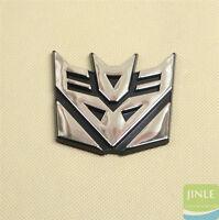 Decepticon Transformers Emblem Badge Graphic Decal Car Sticker 3D Logo 1Pcs New
