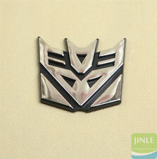 Decepticon Transformers Emblem Badge Graphic Decal Car Sticker 3D Logo 1Pcs New