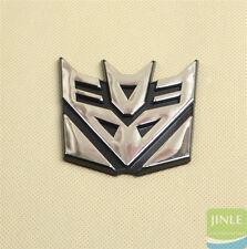 Decepticon Transformers Emblem Badge Graphic Decal Car Sticker 3D Logo×1 64×64mm