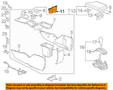 Pontiac GM OEM 04-05 Grand Prix Center Console-Cup Holder 10448740