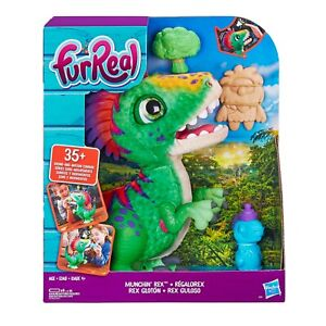 Fantastic Furreal Munchin Rex Baby Dino Pet, 35+ Sound and Motion Combinations