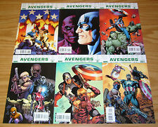 Ultimate Avengers #1-6 VF/NM complete series - mark millar - carlos pacheco set