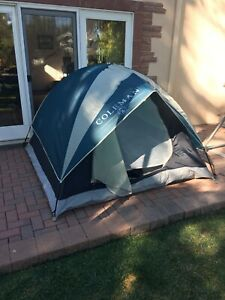 Coleman SUNDOME 3 Person Tent, Great For Backpacking, Easy Setup 7X7