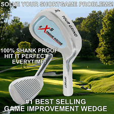 #1 PGA MAGIC LOWEST SCORES SHANK PROOF FACE FORWARD WEDGE PERFECT SHOT AW SW LW
