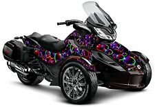 "Can Am Spyder ST ST-S graphic wrap decal kit ""Bubble Wrap"""