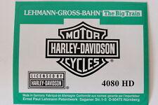 LGB 4080Tankwagen Harley Davidson Ltd. Edition