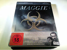 MAGGIE blu ray Steelbook - Arnold Schwarzenegger   ( NEW )