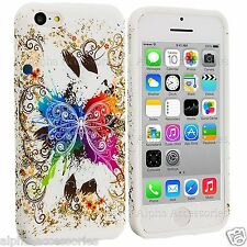 Soft Gel Rubber Case TPU Design Skin Flower Cover For Various Mobile Cell Phone